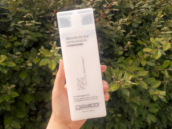 Smooth as Silk Conditioner Deeper Moisture Giovanni après-shampooing