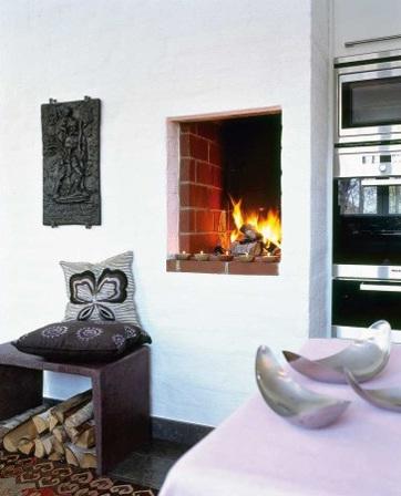 decora y disena 5 cocinas con chimeneas