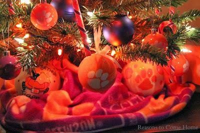 Clemson Ornaments