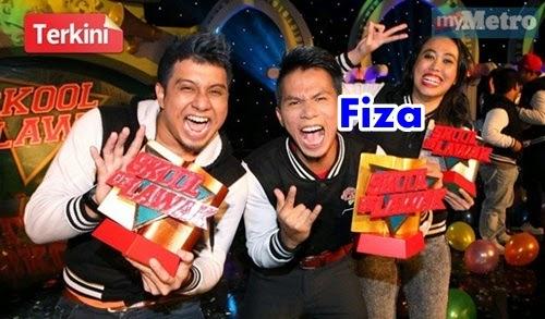 Biodata Fiza Skool of Lawak, gambar Fiza Skool of Lawak, fiza menang tempat ke-2 Skool of Lawak, pemenang skool of lawak