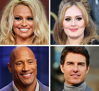 Celebrity weights