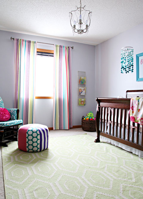 IHeart Organizing: Baby Blake's Beautiful & Bright Nursery