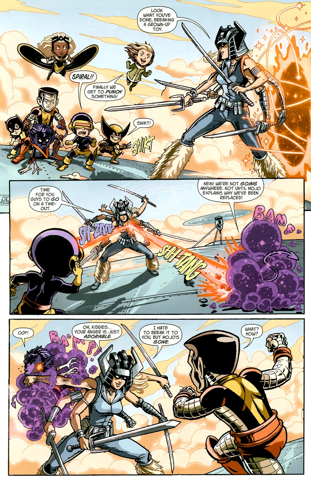 Read online X-Babies comic -  Issue #1 - 18