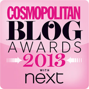 Vote me 'Best New Fashion Blog'