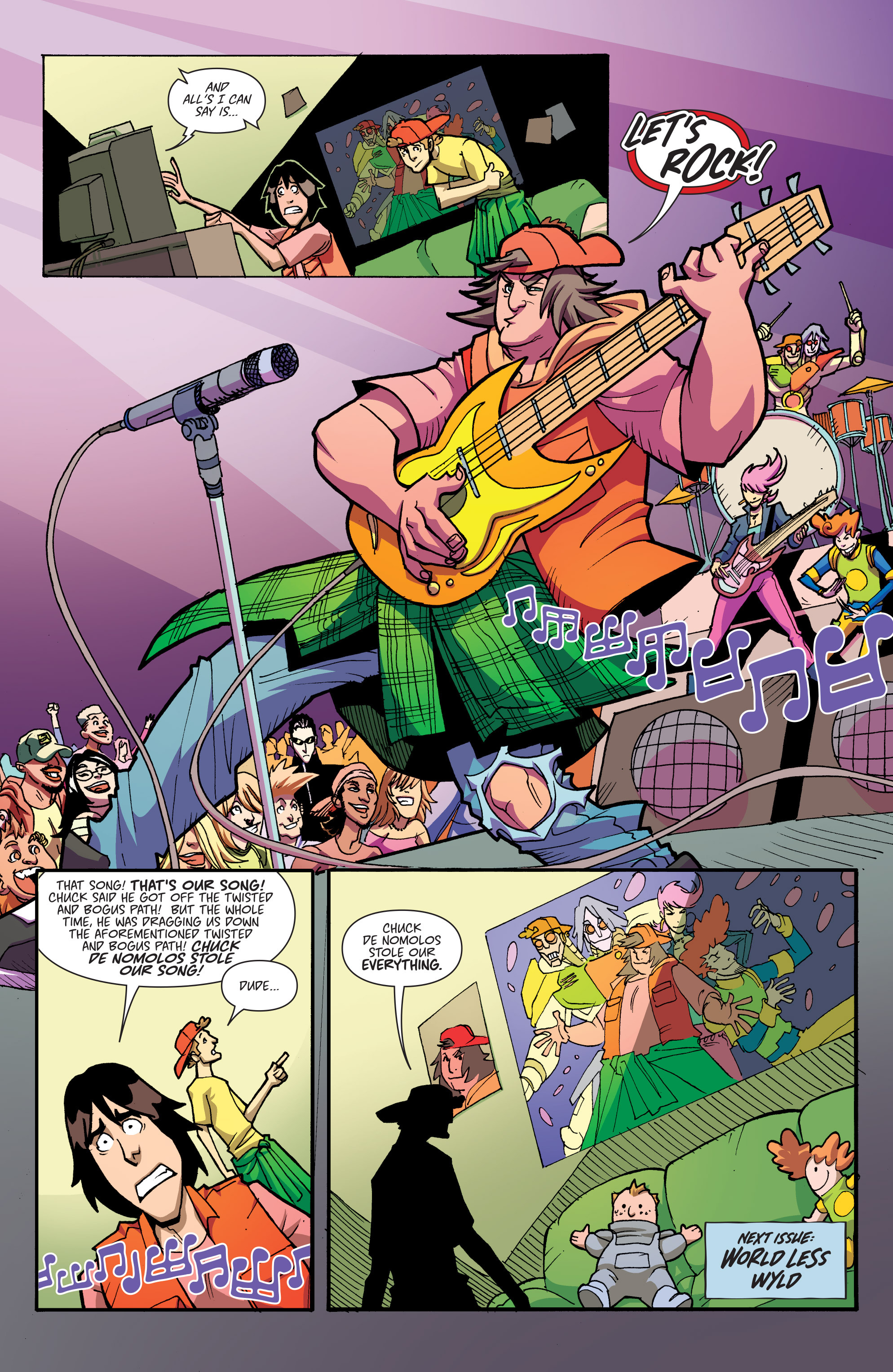 Read online Bill & Ted's Most Triumphant Return comic -  Issue #3 - 18