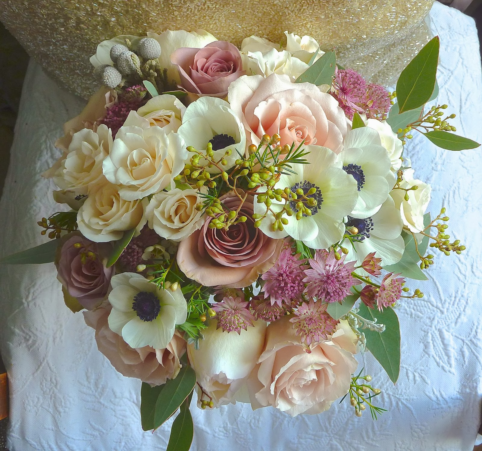 February 2014 Wedding Flowers Rose And Grace