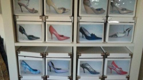 Retro y con encanto zapatos y m s zapatos - Muebles para zapatos ikea ...