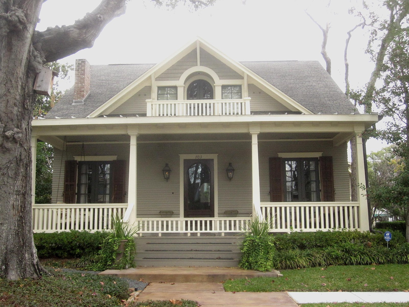 The Other Houston Bungalow Roofs Eaves Gables Trim