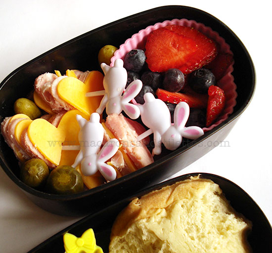 Easter Leftovers Bento Lunch Box