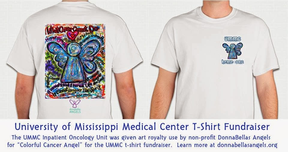 Donnabellas angels university of mississippi medical for Non profit t shirt fundraiser