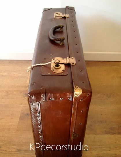 Comprar maleta antigua vintage restaurada