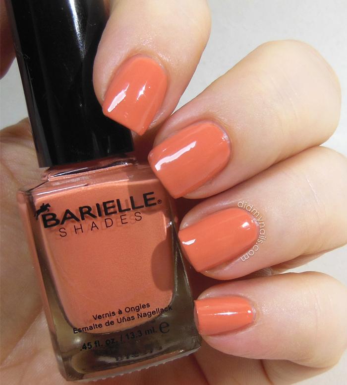 Barielle Orange Parfait swatch