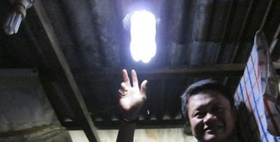 Lampu Tenaga Matahari