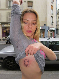 Scarlett Johansson's Tattoo