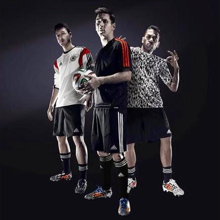 botas de fútbol adidas Battle Pack colección Mundial Brasil 2014