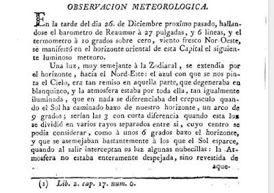 nota del El Correo literario de Murcia de 1792
