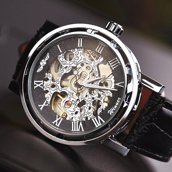 the steampunk review steampunk mechanical winner watch