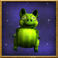 Wizard101 Spiral Cup Gauntlet Bundle Card Pet - Dill Piggle