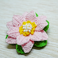 Crochet a Beautiful 3d Flower