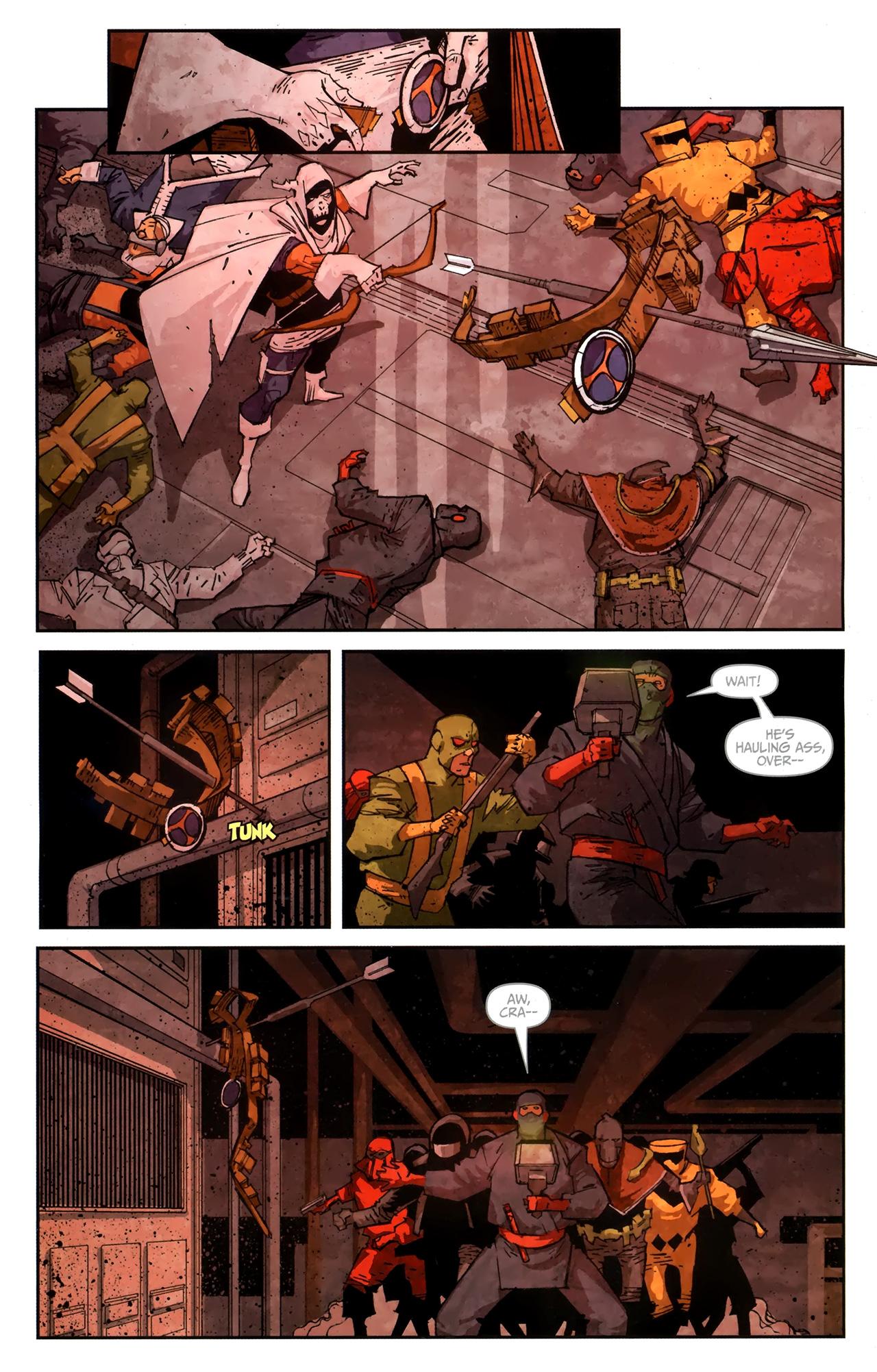 Read online Taskmaster (2010) comic -  Issue #4 - 12