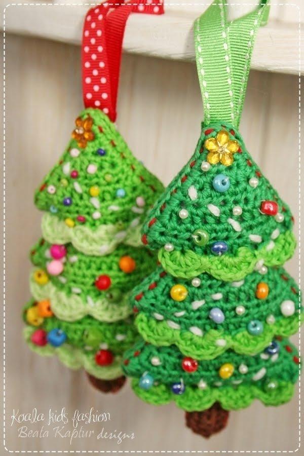 Free Crochet Pattern For Christmas Tree Ornaments : koalakidsfashion