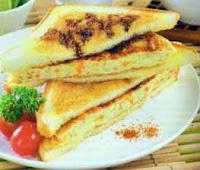 Cara Membuat Sandwich Telur