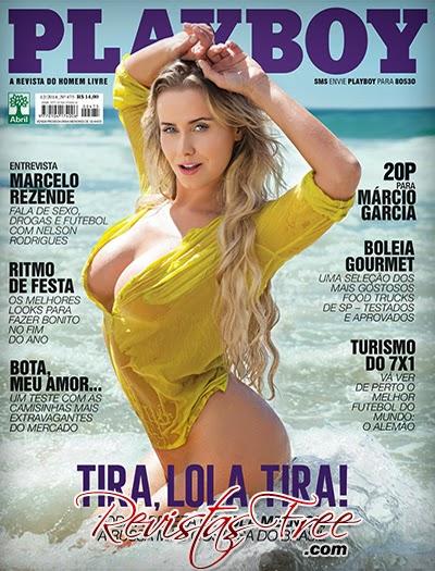 Revista Playboy - Lola Melnick - Dezembro 2014