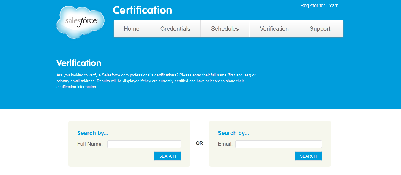 Master Minds Salesforce Certifications Verification