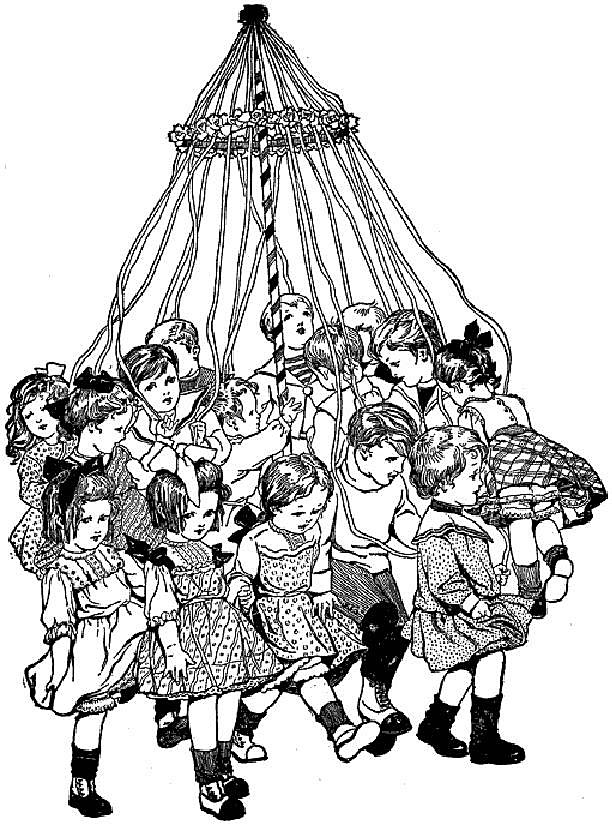 Childrens' May Pole