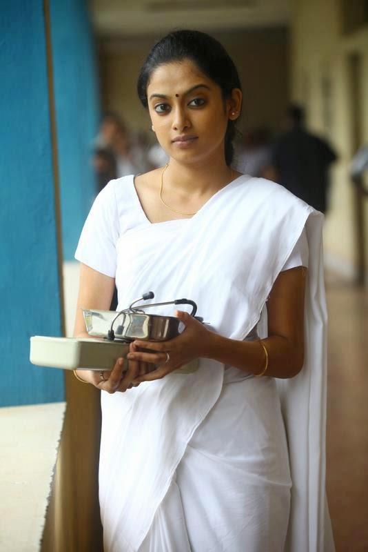 Malayalam Actress Gauthami Nair In Saree Photos - Panel Currey