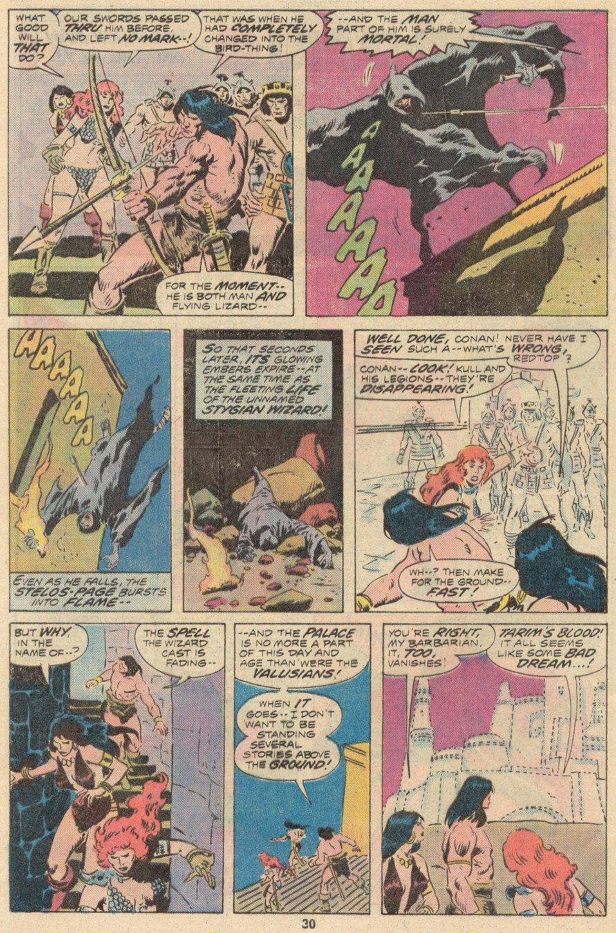 Conan the Barbarian (1970) Issue #68 #80 - English 21