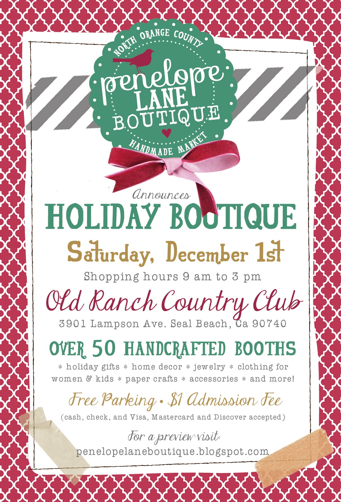 Little penelope lane holiday boutique sneak peek and a for Holiday boutique