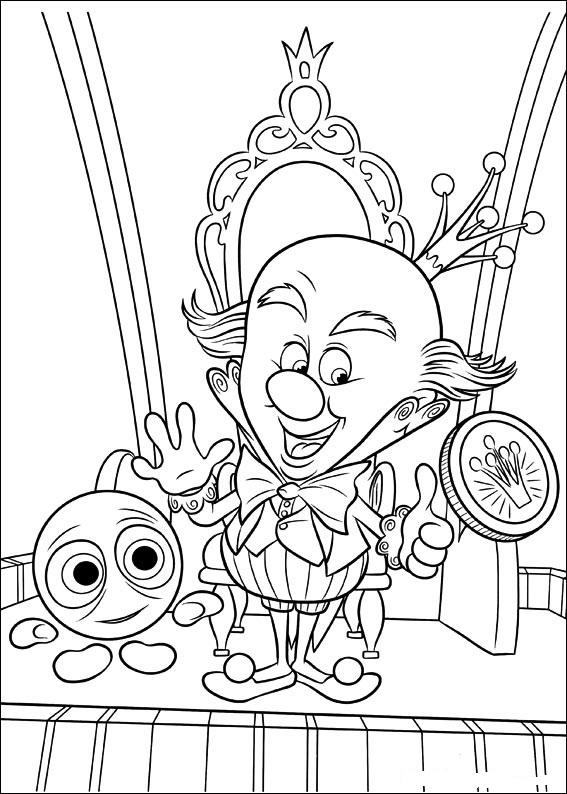 Disney Coloring Pages Wreck It Ralph : Disney soul dibujos para colorear de quot ¡rompe ralph