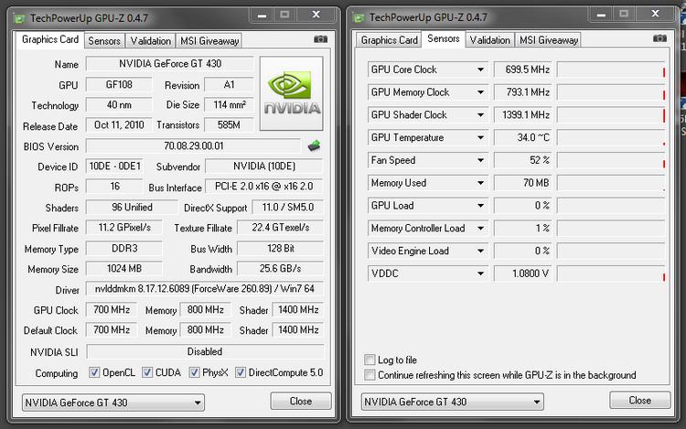 nvidia gt 430 drivers windows 7 64 bit