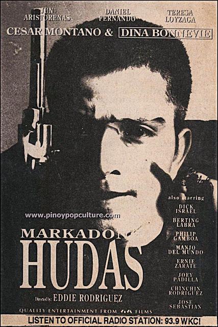 Markadong Hudas, Cesar Montano, Hudas, action movies