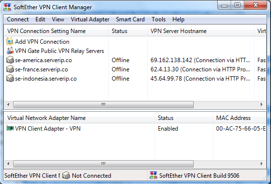download softether vpn client manager full crack