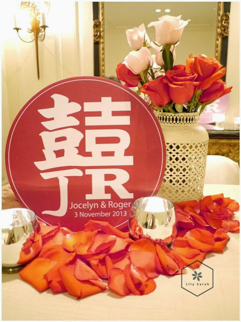 Wedding decoration Chinese and Western Style by Lily Sarah