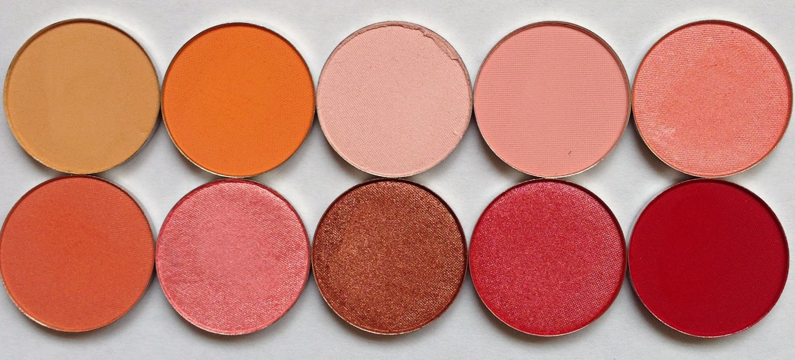 cilla makeup my coastal scents pots haul with swatches