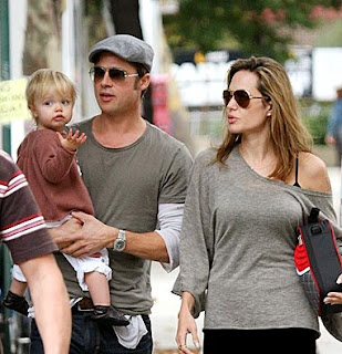 angelina jolie and brad pitt, celebrities, entertainment