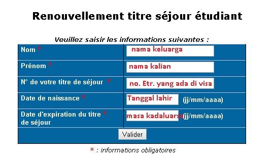 Cara memperpanjang titre de s jour bagi pelajar - Prefecture de police porte de clignancourt ...