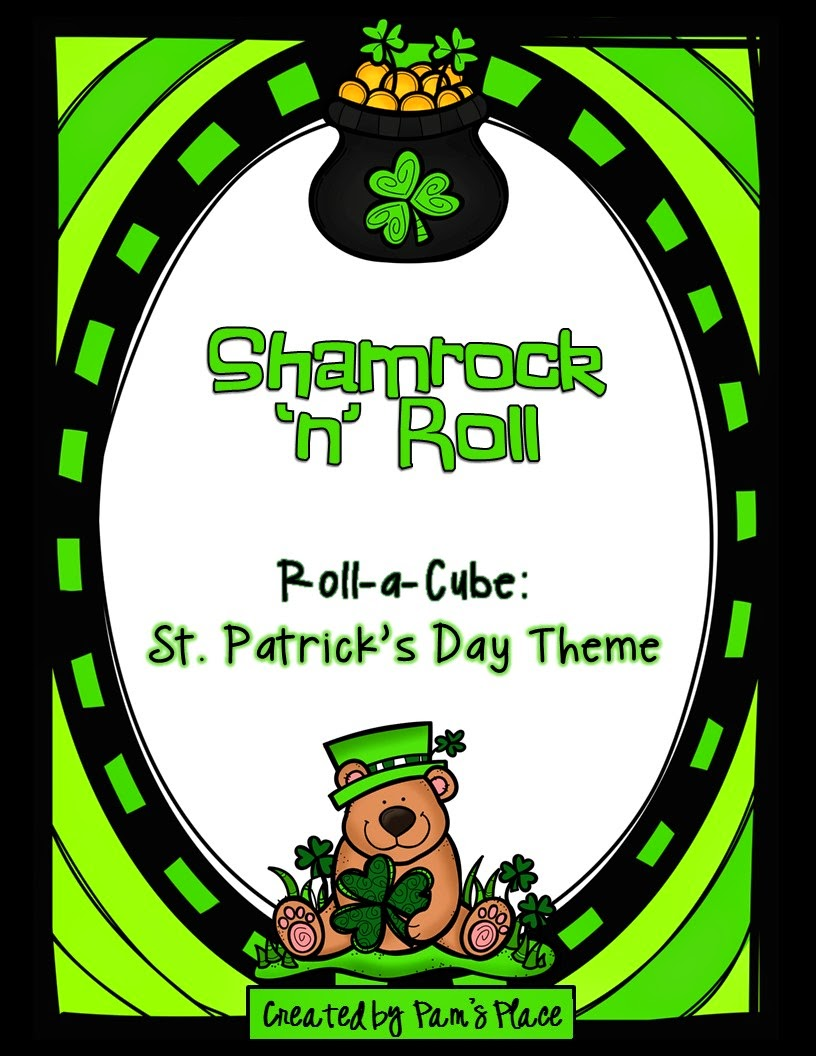 https://www.teacherspayteachers.com/Product/Shamrock-n-RollRoll-a-Cube-Short-Writing-Tasks-Writing-Center-1757539