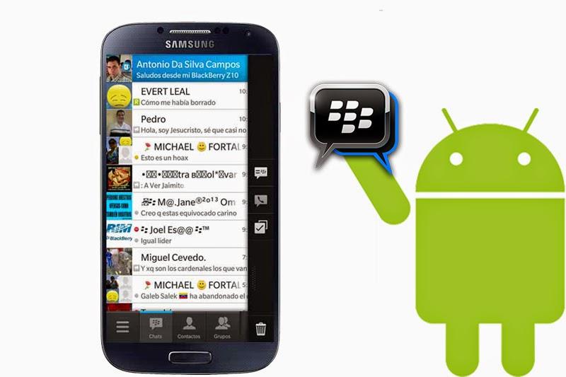 Cara Pasang BBM untuk Android