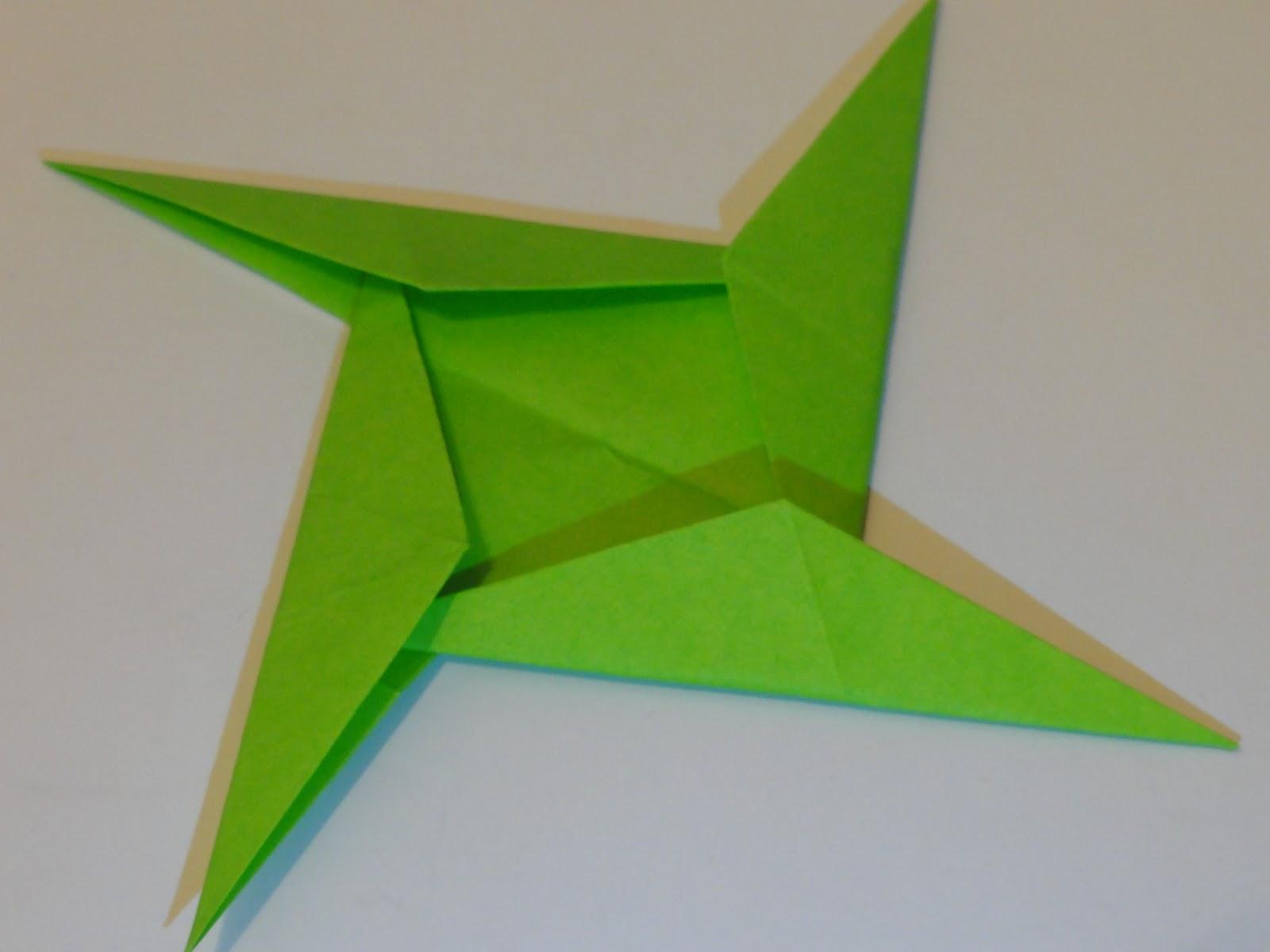 Ariake Aggie: Origami A Day 14: Cosmic Shuriken Guard and ... - photo#35