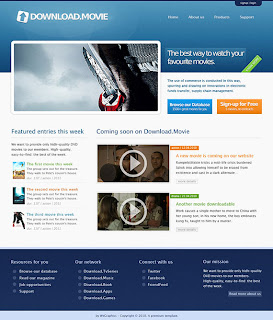 Making a clean professional website (design and layout)