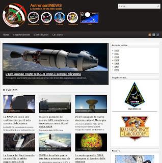 Home page di AstronautiNEWS