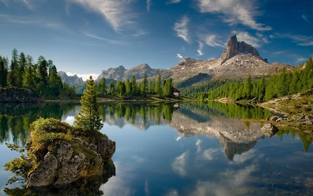 Montanas y Lagos Paisajes Naturales de Italia