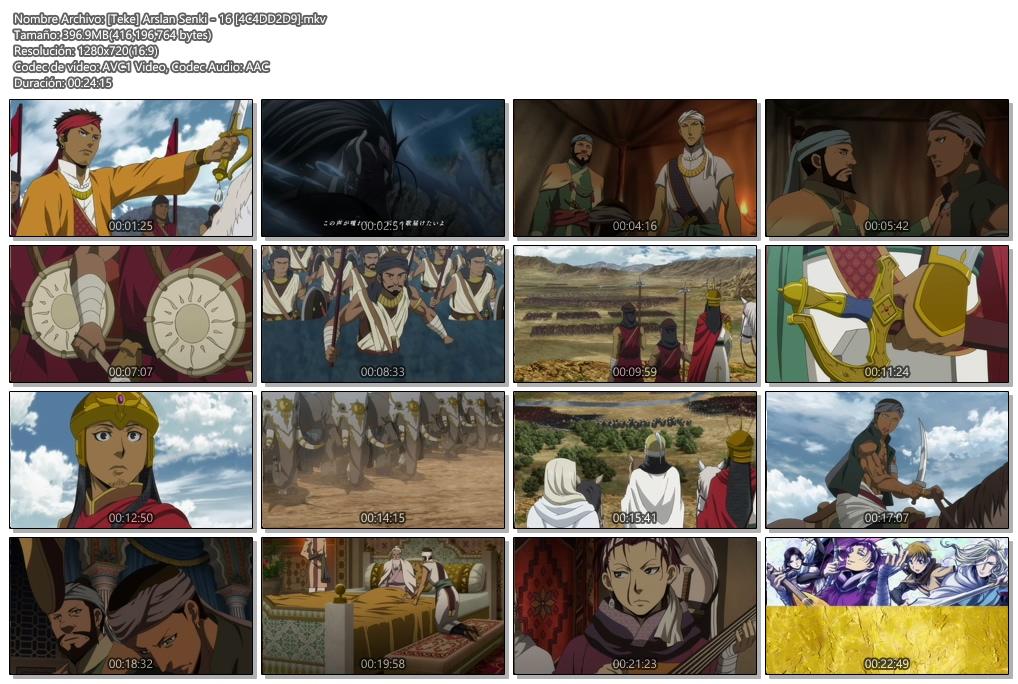Arslan Senki|16-20/25|720p|En Emision|HDTV