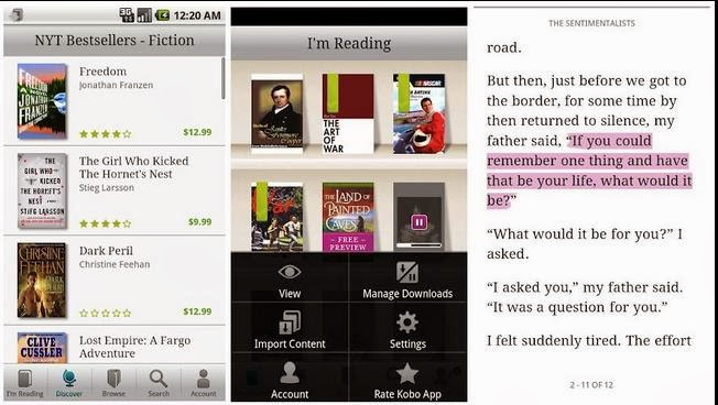 Kobo-eBook Reader for Android