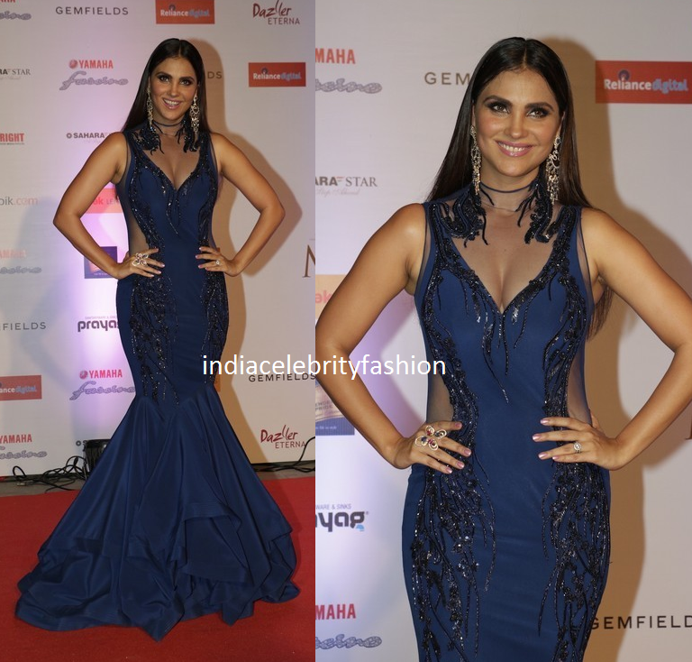 Lara Dutta in Gaurav Gupta Mermaid Dress