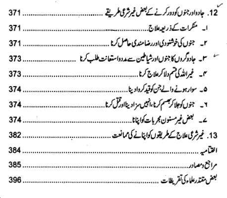 Index page 10 of Jadu ki Haqeeqat